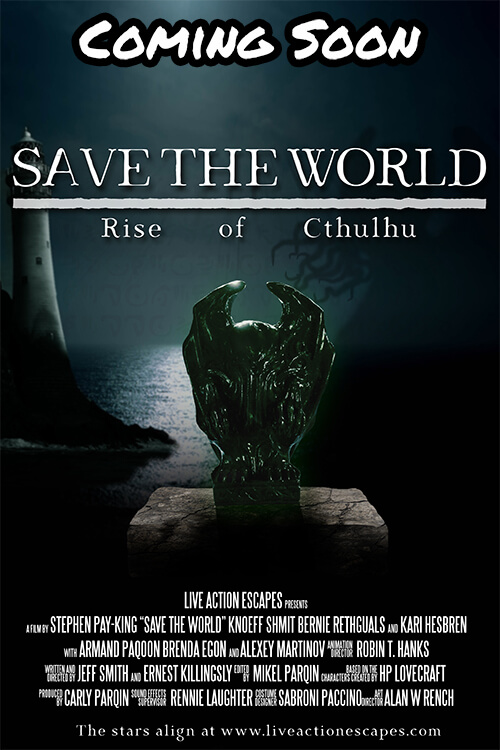 Save The World: Rise Of Cthulhu Escape Room