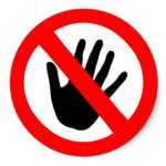 Do Not Touch - Escape Room Sticker