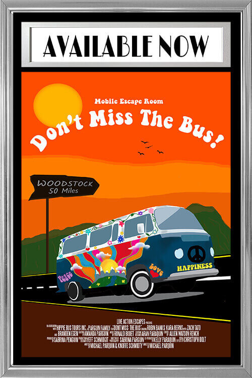 Don't Miss The Bus - The Mobile Escape Room