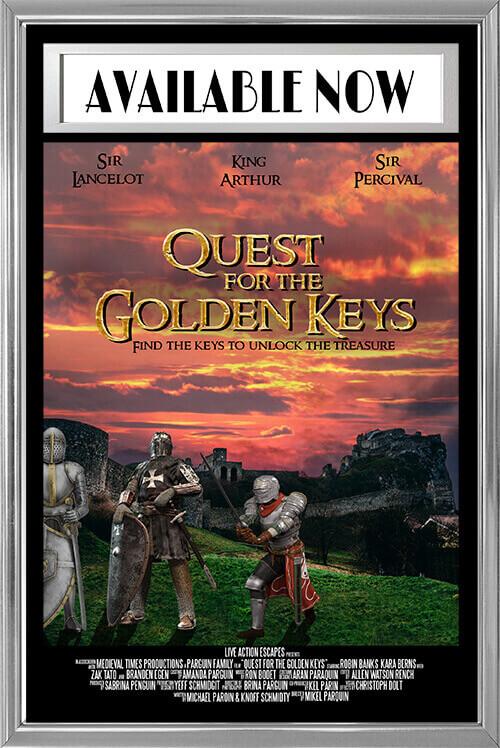 Quest For The Golden Keys: A Live Scavenger Hunt Event