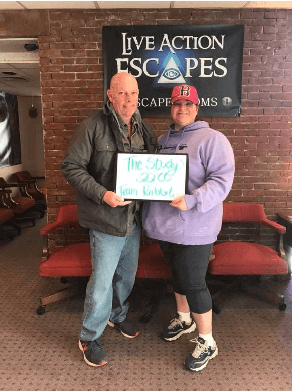 Escape Room Enthusiasts: Team Rabbit at Live Action Escapes