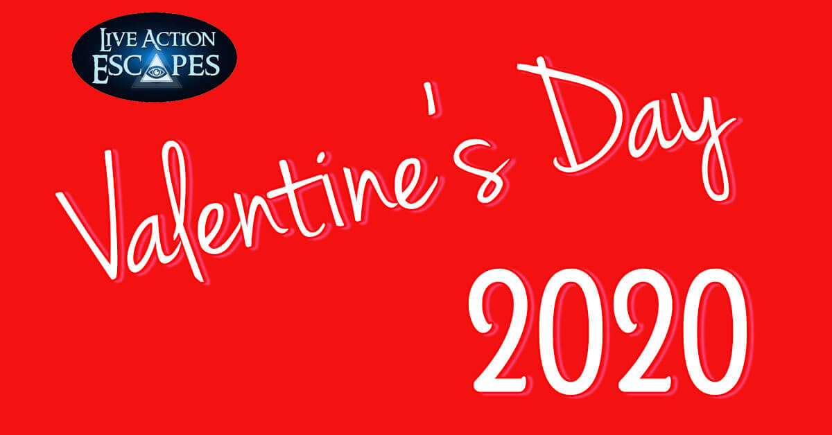 Worcester MA Live Action Escapes logo Valentine's Day 2020 activities